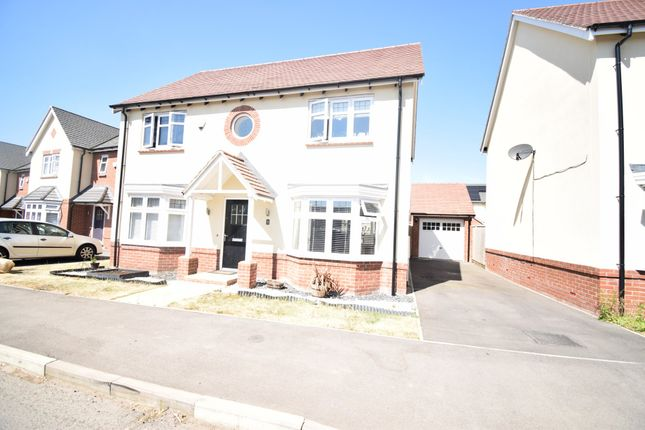 Thumbnail Detached house for sale in Elmdon Drive, Humberstone, Leicester