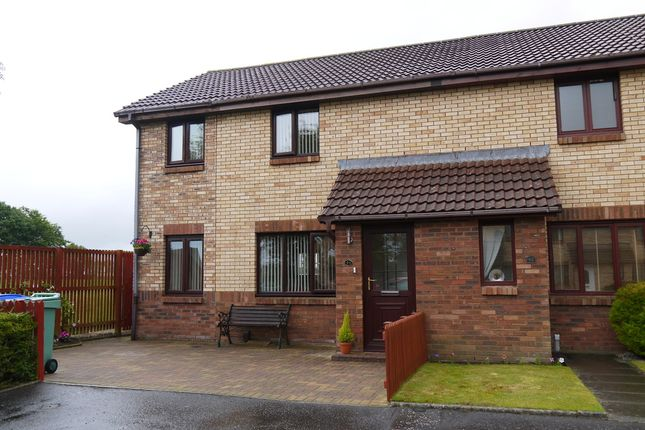 Thumbnail End terrace house for sale in Mcadam Court, Prestwick