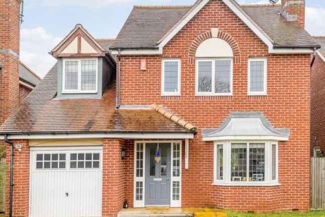 Thumbnail Detached house for sale in Eaves Close, Addlestone, Surrey