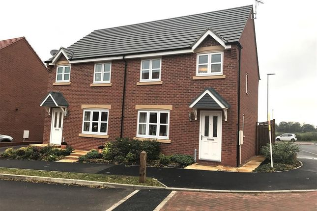 3 bed semi-detached house to rent in Devana Way, Great Glen, Leicester LE8