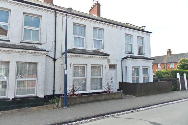 Thumbnail Maisonette to rent in Cobbold Road, Felixstowe