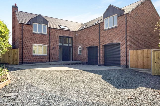 Thumbnail Detached house for sale in Parsons Lane, Sharnford, Hinckley