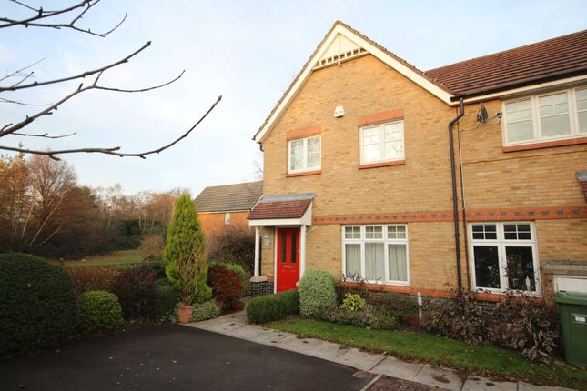 Thumbnail End terrace house to rent in Hornby Avenue, Bracknell