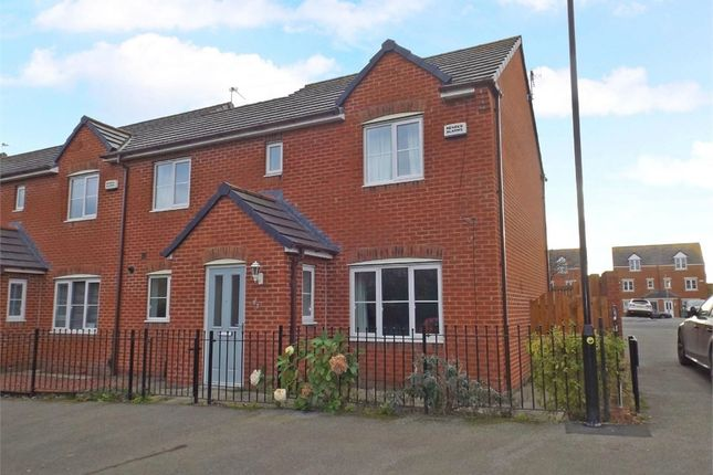 Thumbnail End terrace house for sale in Seaton Lane, Hartlepool, Durham