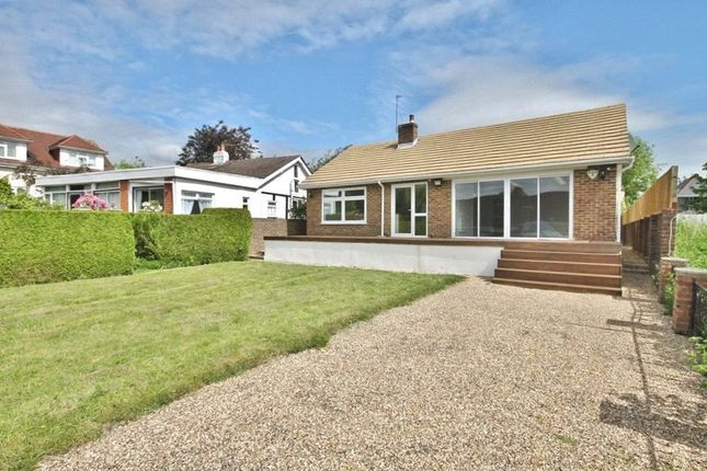 Thumbnail Detached bungalow to rent in The Island, Wraysbury, Staines-Upon-Thames, Berkshire