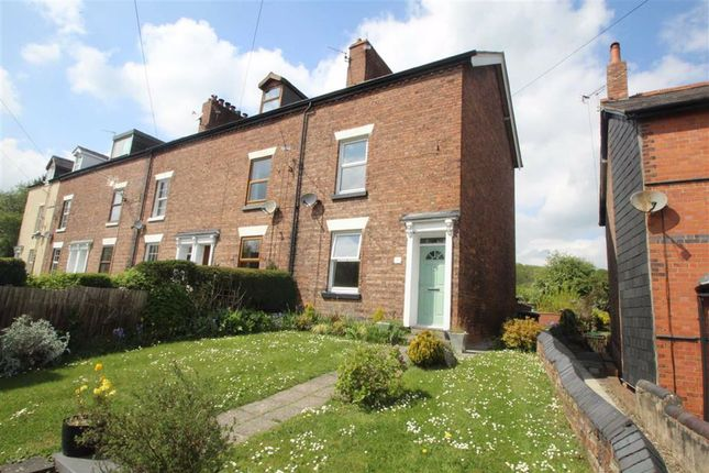 Thumbnail End terrace house for sale in Whittington Road, Gobowen, Oswestry