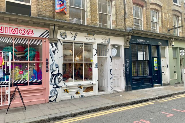 Retail premises to let in Cheshire Street, London