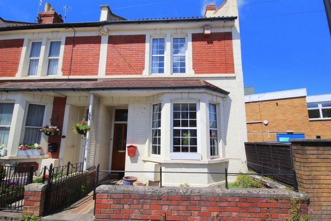 Thumbnail End terrace house for sale in Stoke Lane, Westbury-On-Trym, Bristol