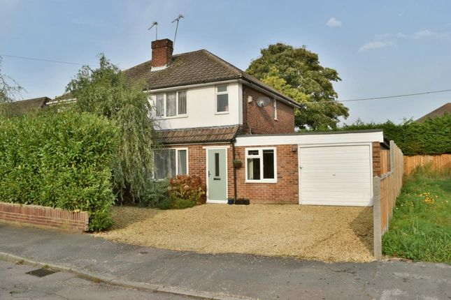 Thumbnail Semi-detached house for sale in Warwick Road, Ash Vale