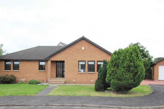 Thumbnail Detached bungalow for sale in Rathmor Road, Biggar