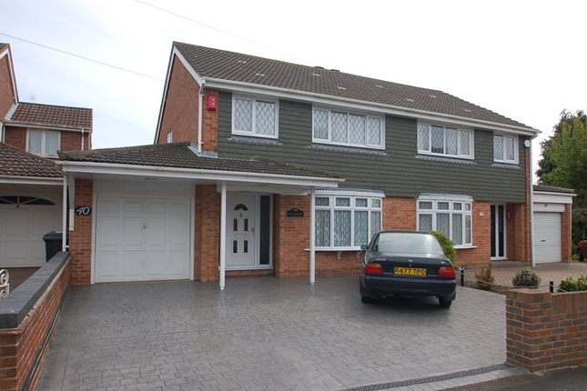 Thumbnail Semi-detached house for sale in Carisbrooke Road, Gosport