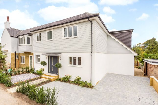 Thumbnail Semi-detached house for sale in Manor Close, Warlingham, Surrey