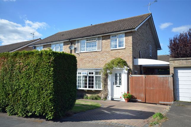Thumbnail Semi-detached house for sale in Garrick Way, Frimley Green, Camberley, Surrey