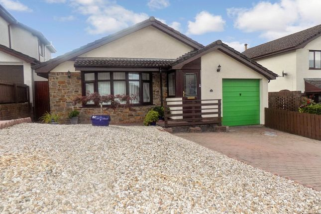 Thumbnail Detached bungalow for sale in The Meadows, Cimla, Neath, Neath Port Talbot.