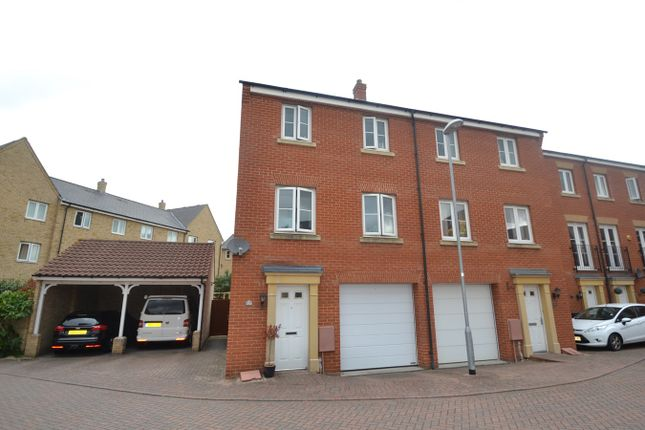 Thumbnail End terrace house for sale in Roper Close, Colchester