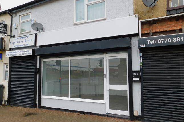 Thumbnail Retail premises to let in 166 Birmingham Road, Oldbury