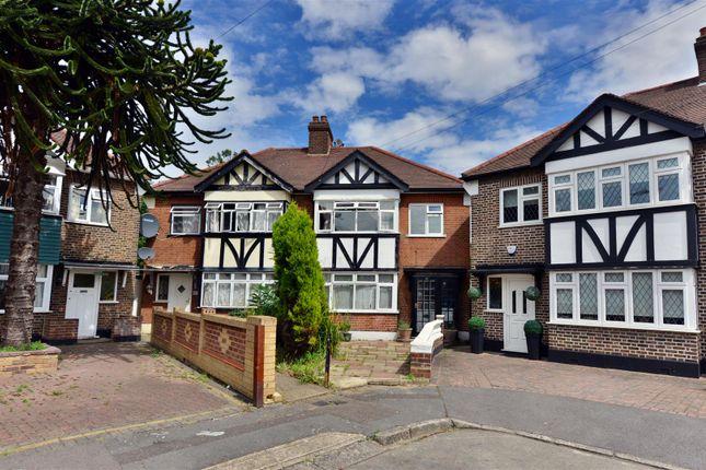 Thumbnail Semi-detached house for sale in Markmanor Avenue, London