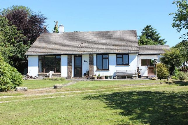 Thumbnail Bungalow for sale in Truro Road, Sticker, St. Austell
