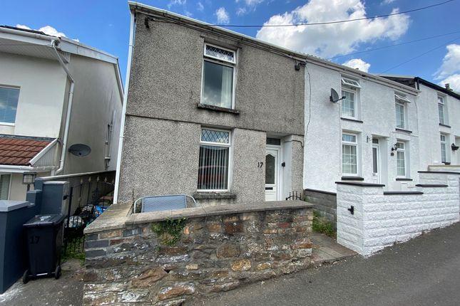 Thumbnail End terrace house for sale in Penheolferthyr, Mountain Hare, Merthyr Tydfil
