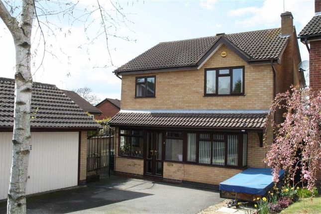Thumbnail Detached house for sale in Granary Close, Glenfield, Leicester