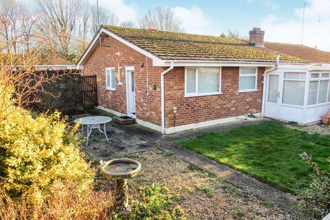 Thumbnail Semi-detached bungalow for sale in Milford Avenue, Stony Stratford, Milton Keynes
