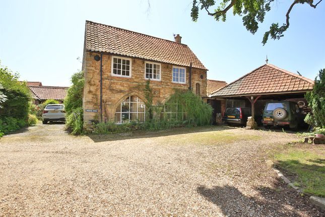 Thumbnail Detached house for sale in Church Lane, Caythorpe, Grantham