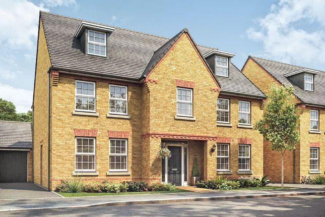 Thumbnail Detached house for sale in Newton Lane, Wigston