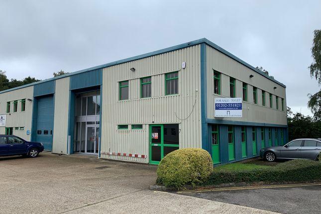 Thumbnail Light industrial for sale in 7 Cedar Trade Park, Ferndown Industrial Estate, Wimborne, Dorset