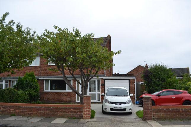 Thumbnail Semi-detached house for sale in Raby Drive, East Herrington, Sunderland