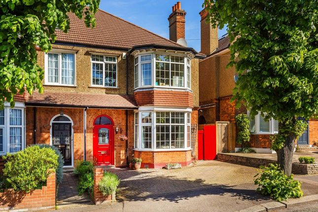 Thumbnail Semi-detached house for sale in Salisbury Avenue, Cheam, Sutton