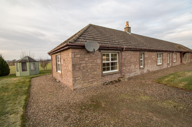 Thumbnail Semi-detached house to rent in Cottage 3 Over Buttergask Farm, Burrleton