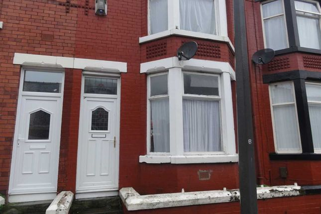 Thumbnail Terraced house to rent in Grasville Road, Tranmere, Birkenhead