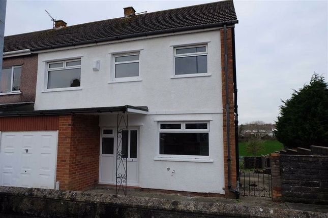 Thumbnail Semi-detached house to rent in Salisbury Road, Barry, Vale Of Glamorgan