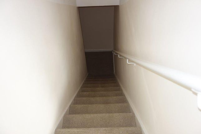 Stairs Leading To Living Areas