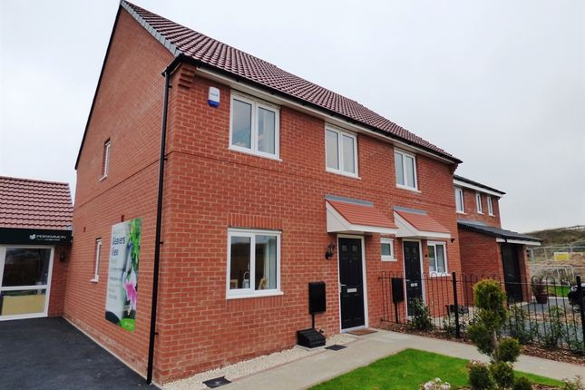 "Thumbnail 3 bedroom semi-detached house for sale in ""The Paddington"" at Wyndham Way, Pleasley, Mansfield"