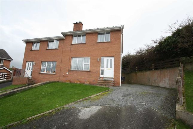 Thumbnail Semi-detached house for sale in Grove Crescent, Ballynahinch, Down