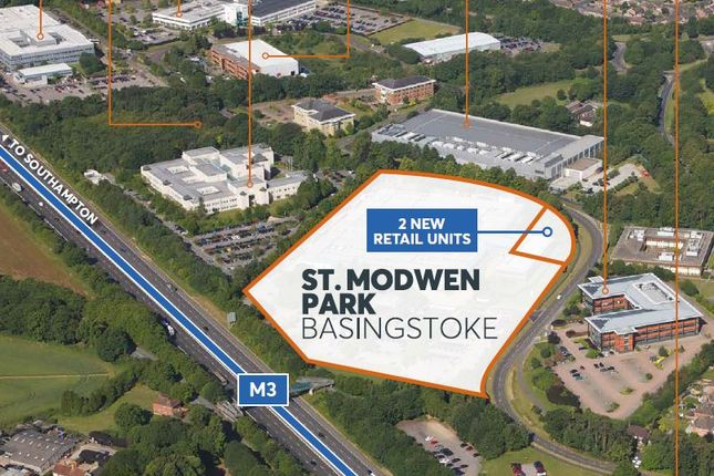 Thumbnail Retail premises to let in St Modwen Park, Jays Close, Viables, Basingstoke