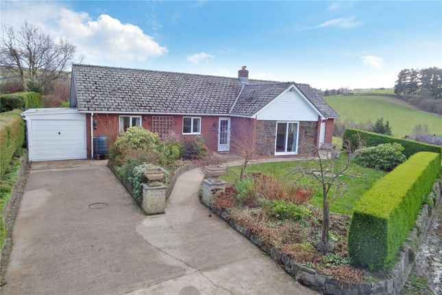 Thumbnail Bungalow for sale in Y Fan, Llanidloes, Powys