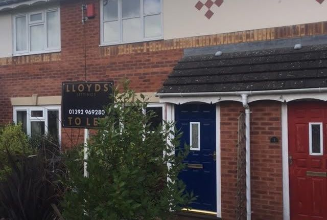 Thumbnail Terraced house to rent in Excaliber Close, Beacon Heath, Exeter, Devon