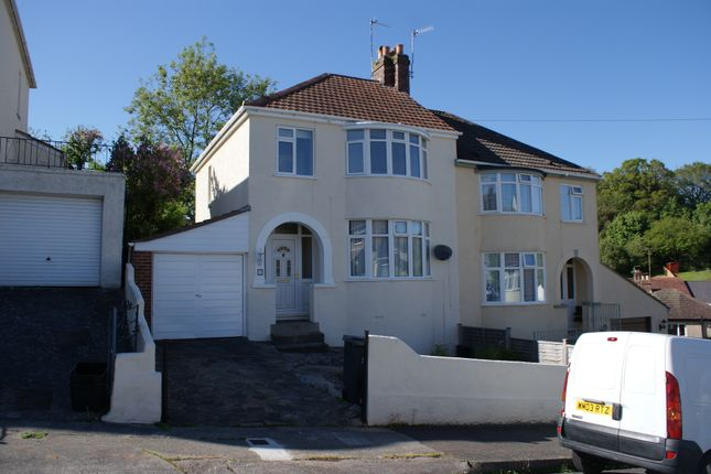 3 bed semi-detached house to rent in Sherwell Rise South, Torquay