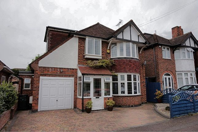 Thumbnail Detached house for sale in Westmeath Avenue, Leicester