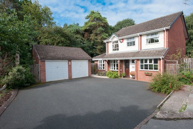 Thumbnail Detached house for sale in Roundhill Close, Sutton Coldfield