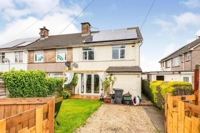 Thumbnail End terrace house for sale in Avon Road, Pill, North Somerset