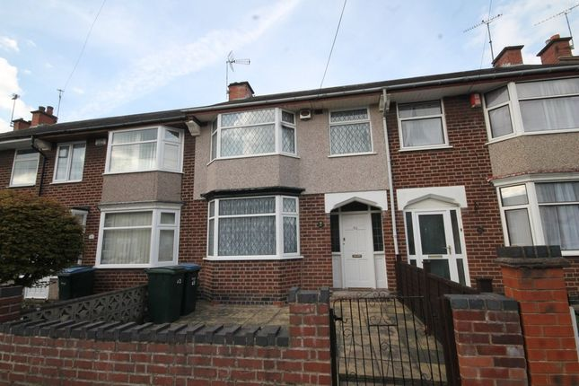 3 bed terraced house for sale in Glencoe Road, Coventry