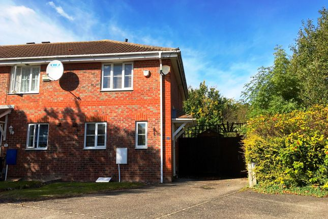 Thumbnail Semi-detached house to rent in Arnald Way, Houghton Regis, Dunstable