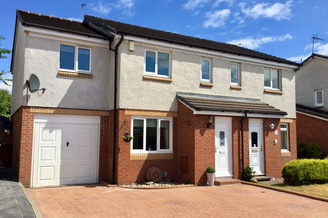 Thumbnail 3 bed semi-detached house for sale in Harris Drive, Old Kilpatrick, Glasgow