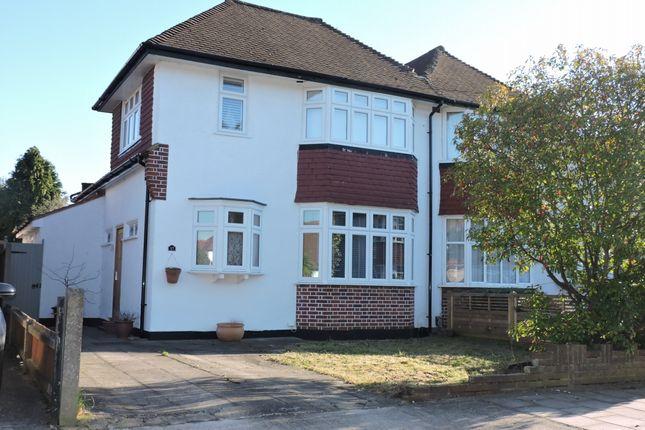 Thumbnail Semi-detached house for sale in Landseer Road, Old Malden, Worcester Park