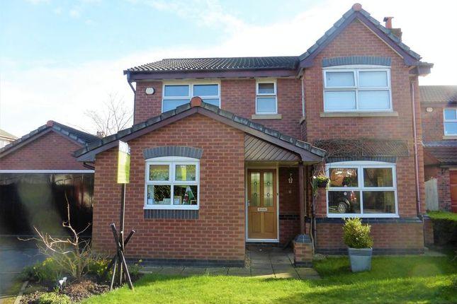 Thumbnail Detached house for sale in Park Farm Close, Longton, Preston