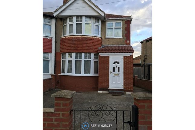 Thumbnail End terrace house to rent in Woodhouse Avenue, Perivale, Greenford