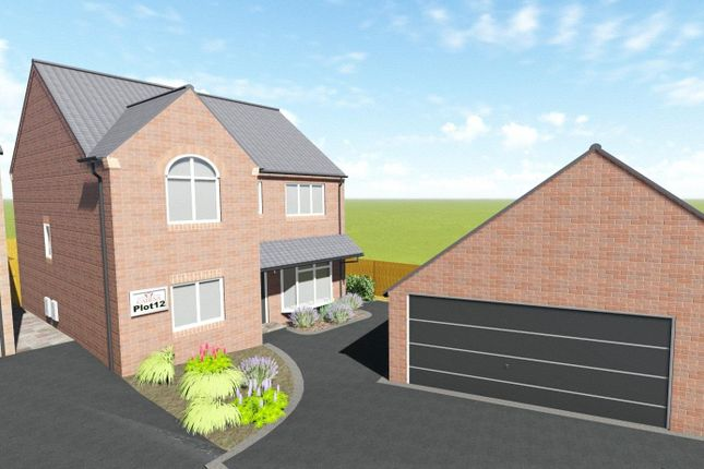 Thumbnail Detached house for sale in The Chatsworth, Plot 12, Quarry Lane, Mansfield